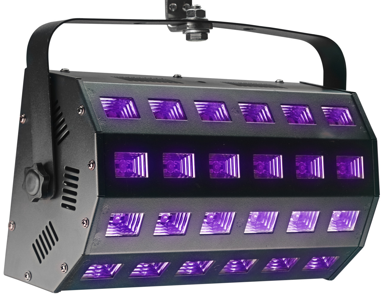 UV Washer, 24 x 3 watts, 65°, DMX