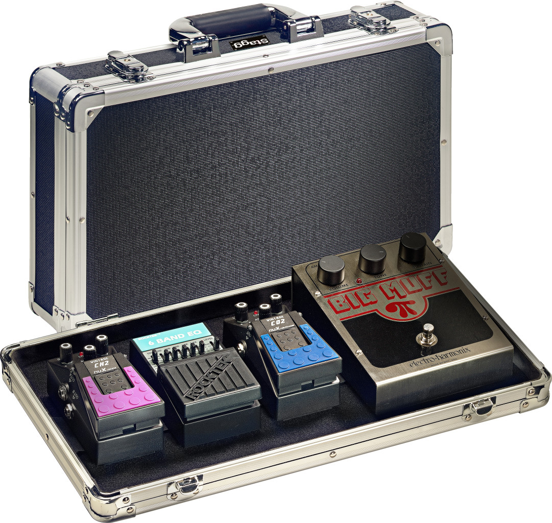 ABS case for guitar effect pedals (pedals not included)