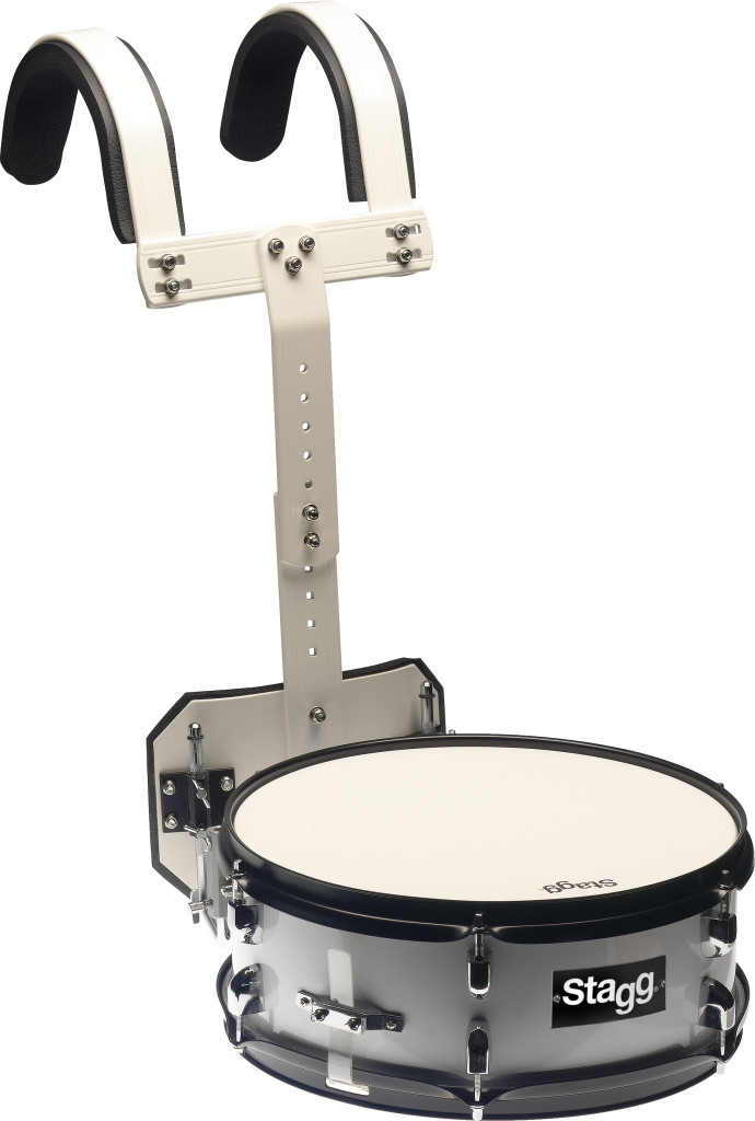 "14"" x 5.5"" Marching snare drum with carrier"