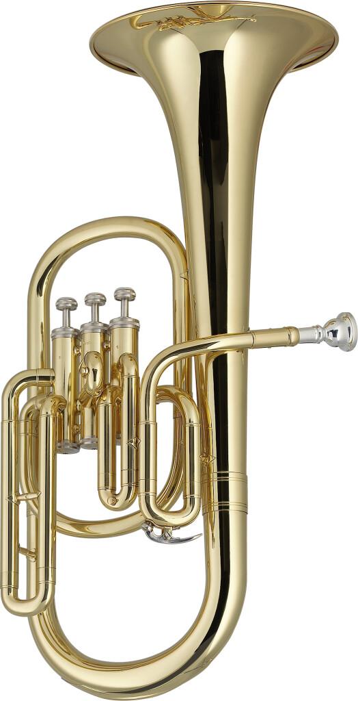 Eb Alto Horn, 3 piston valves