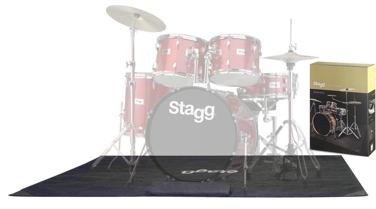 Leichter Schlagzeugteppich mit Tragetasche
