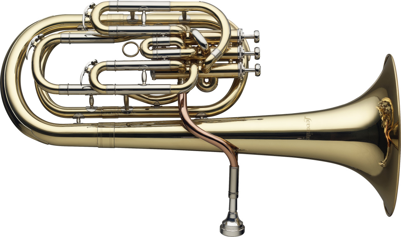B Baritonhorn Pro, Kompensiertes-System, mit 3 Perinetventilen