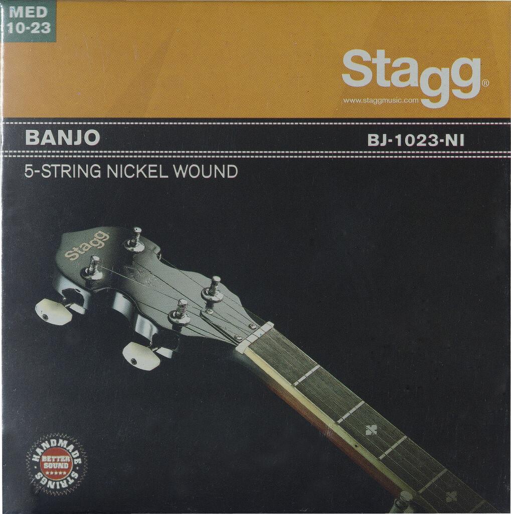 Jeu de cordes nickelés pour banjo à 5-cordes