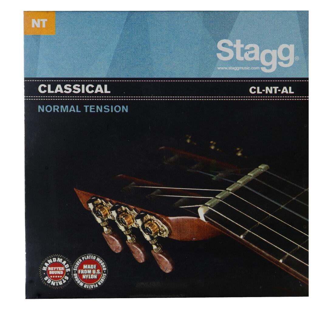 Versilberter Nylon Saitensatz für Klassik-Gitarre