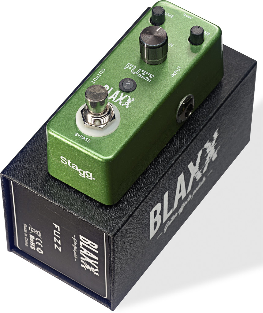 BLAXX Fuzz pedal for electric guitar