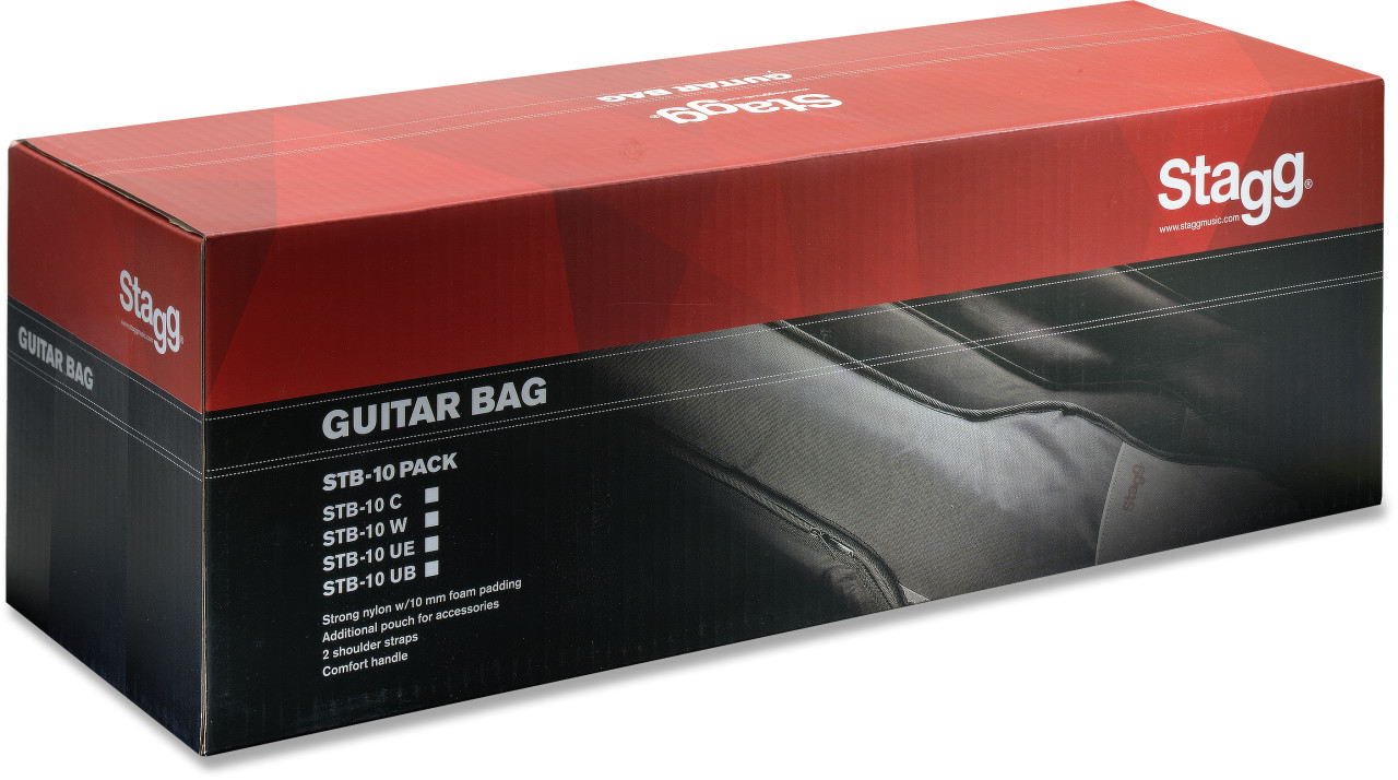 Basic series padded nylon bag for western guitar