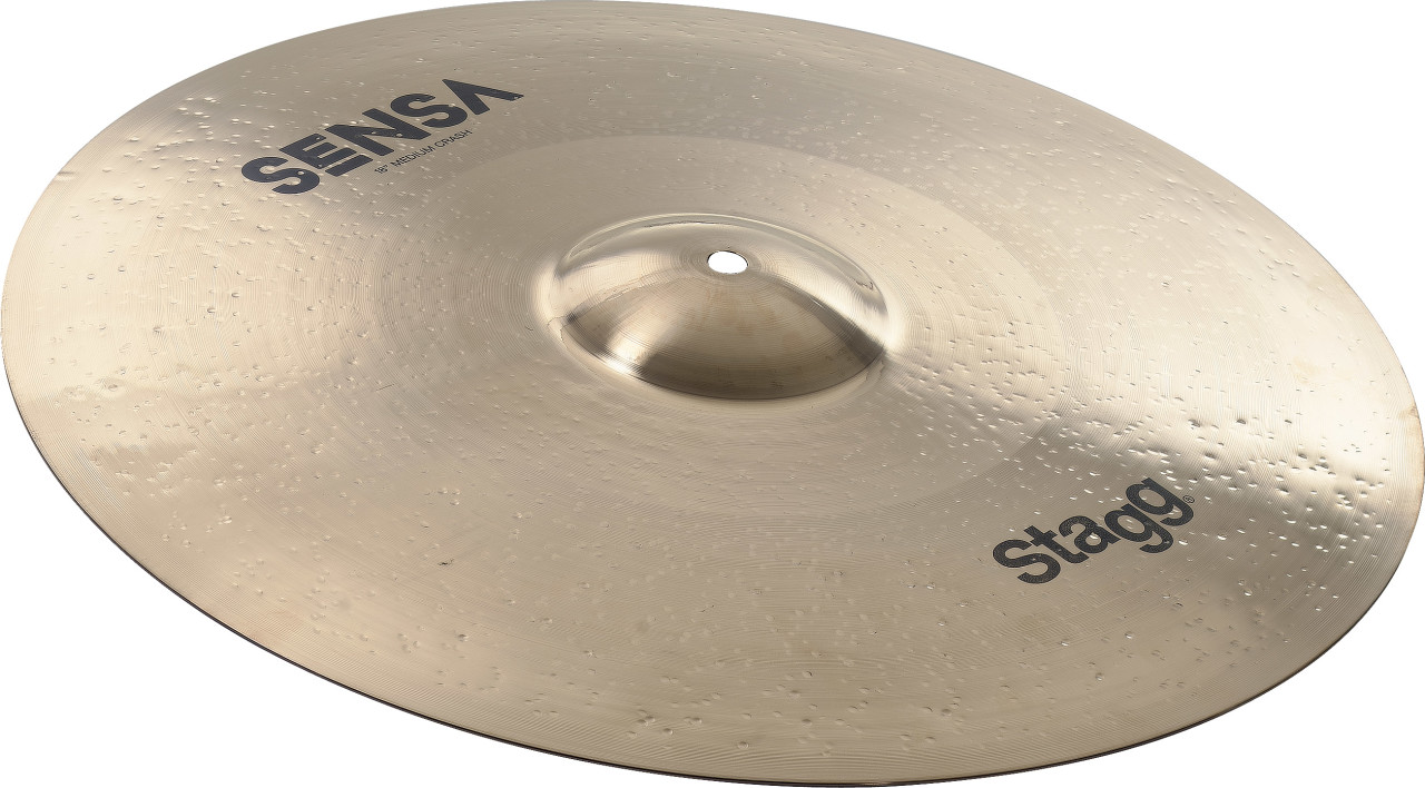 "18"" SENSA Brilliant Medium Crash Ride"