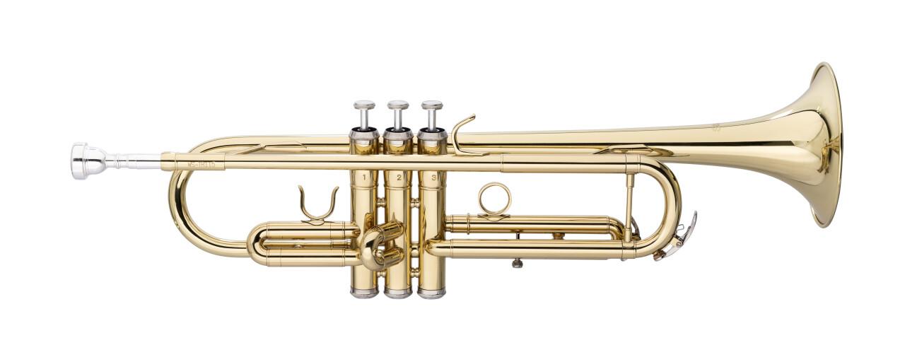 Bb Trumpet, ML-bore, Brass body material