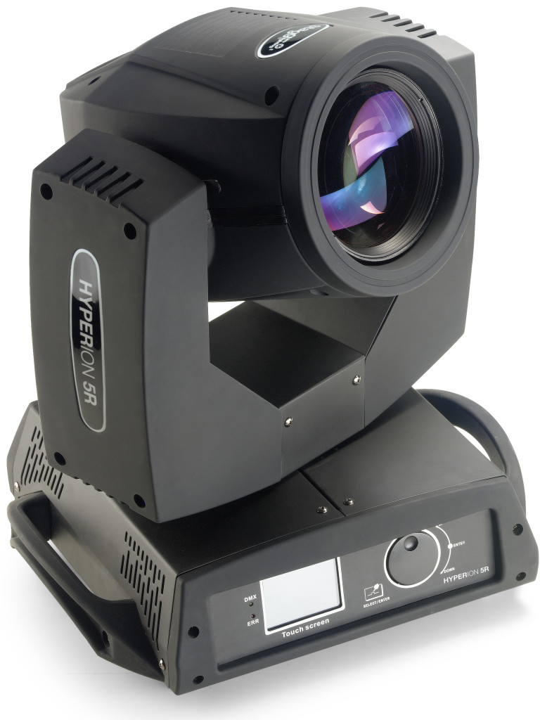 Hyperion 5R, 0° Beam Moving Head with Philips 5R lamp