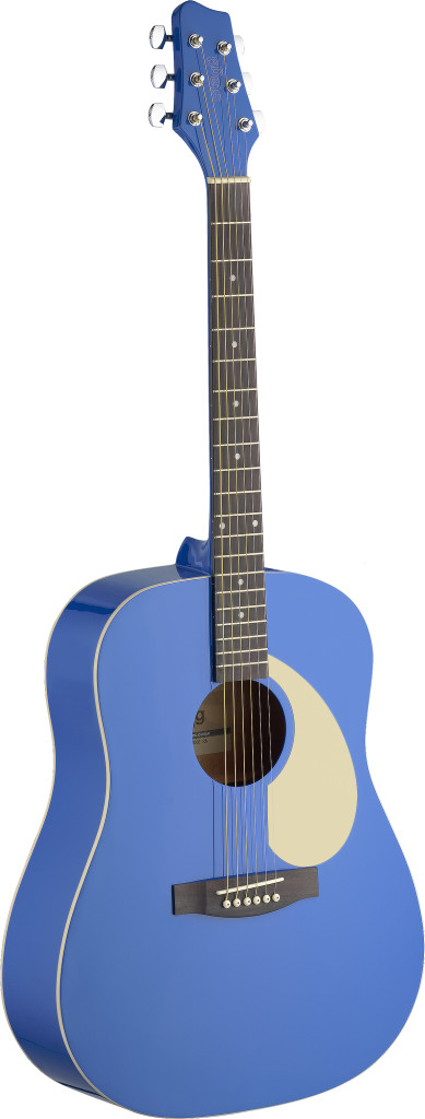 Dreadnought acoustic guitar with Linden top