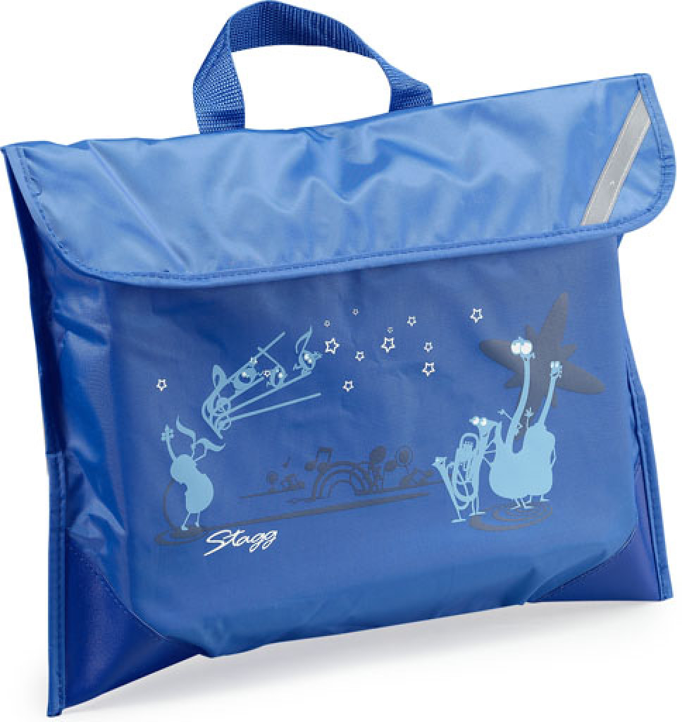 Nylon pouch for music score sheets