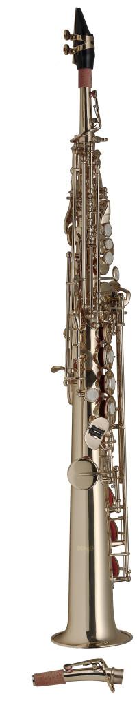B Sopran Saxophon, gerader und gebogener S-Bogen