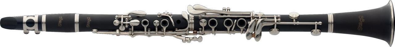 Bb Clarinet, ABS body, Boehm system, lighter version