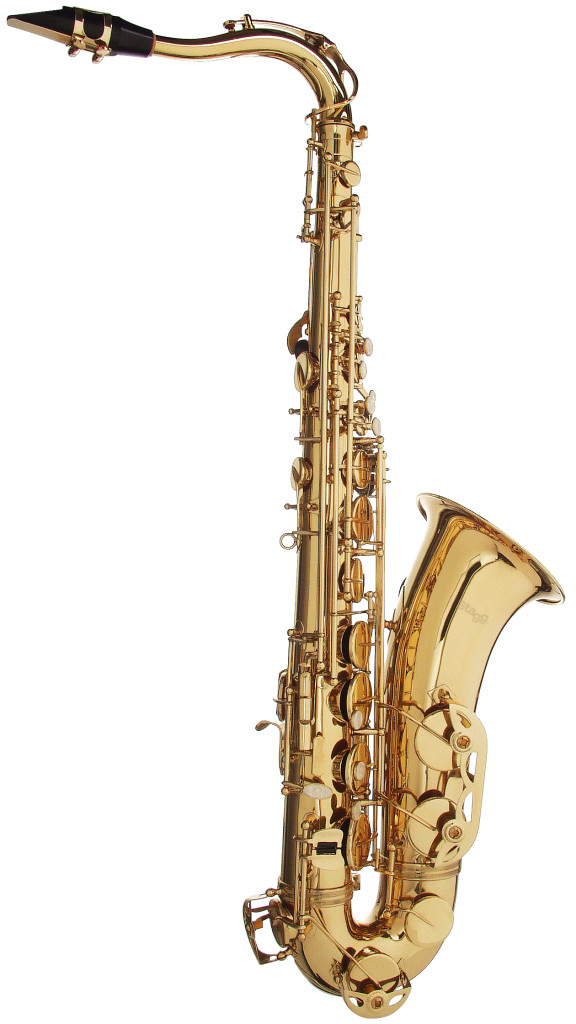 Bb Tenor Saxophone, in ABS case