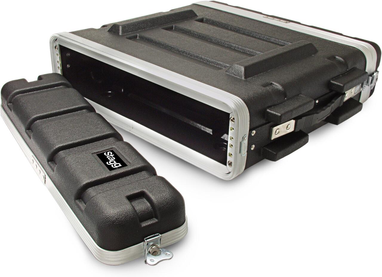 Coffre en ABS pour rack 2 unités