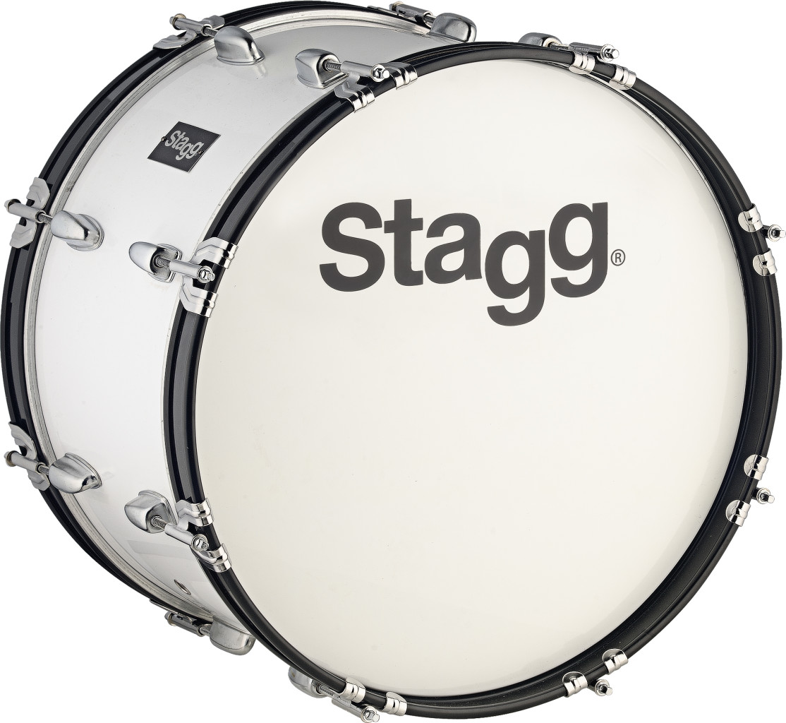 """22"""" x 10"""" Marching Bass Drum with strap & beater"""