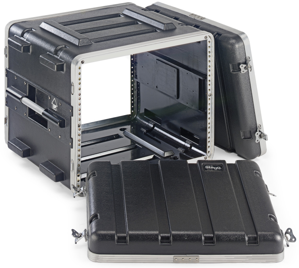 ABS case for 8-unit rack
