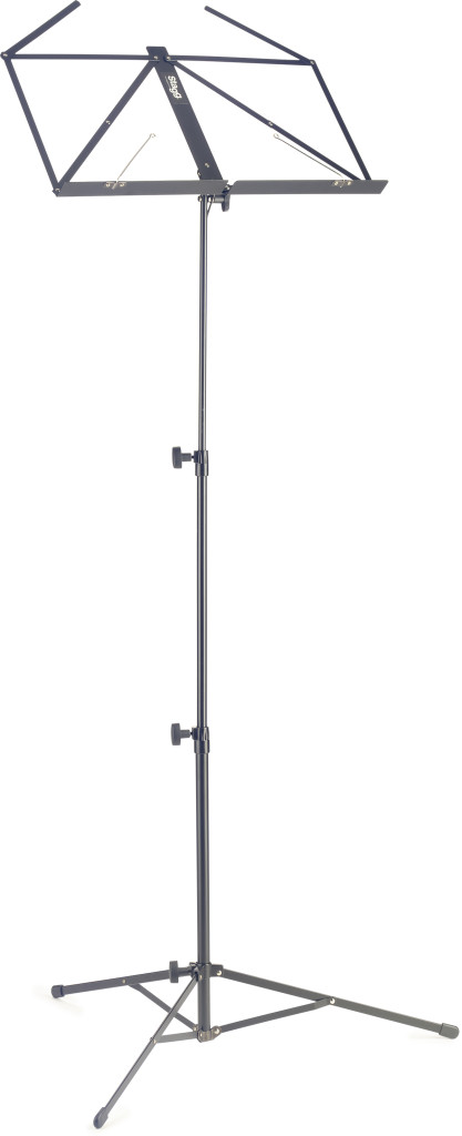 Standard, lyra collapsible music stand, 3 sections