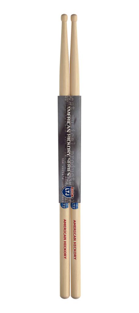 Pair of Hickory Sticks/Latin Jazz - Wooden Tip