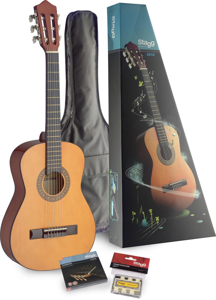 Package guitare classique 1/2 C510 (table tilleul) & accessoires