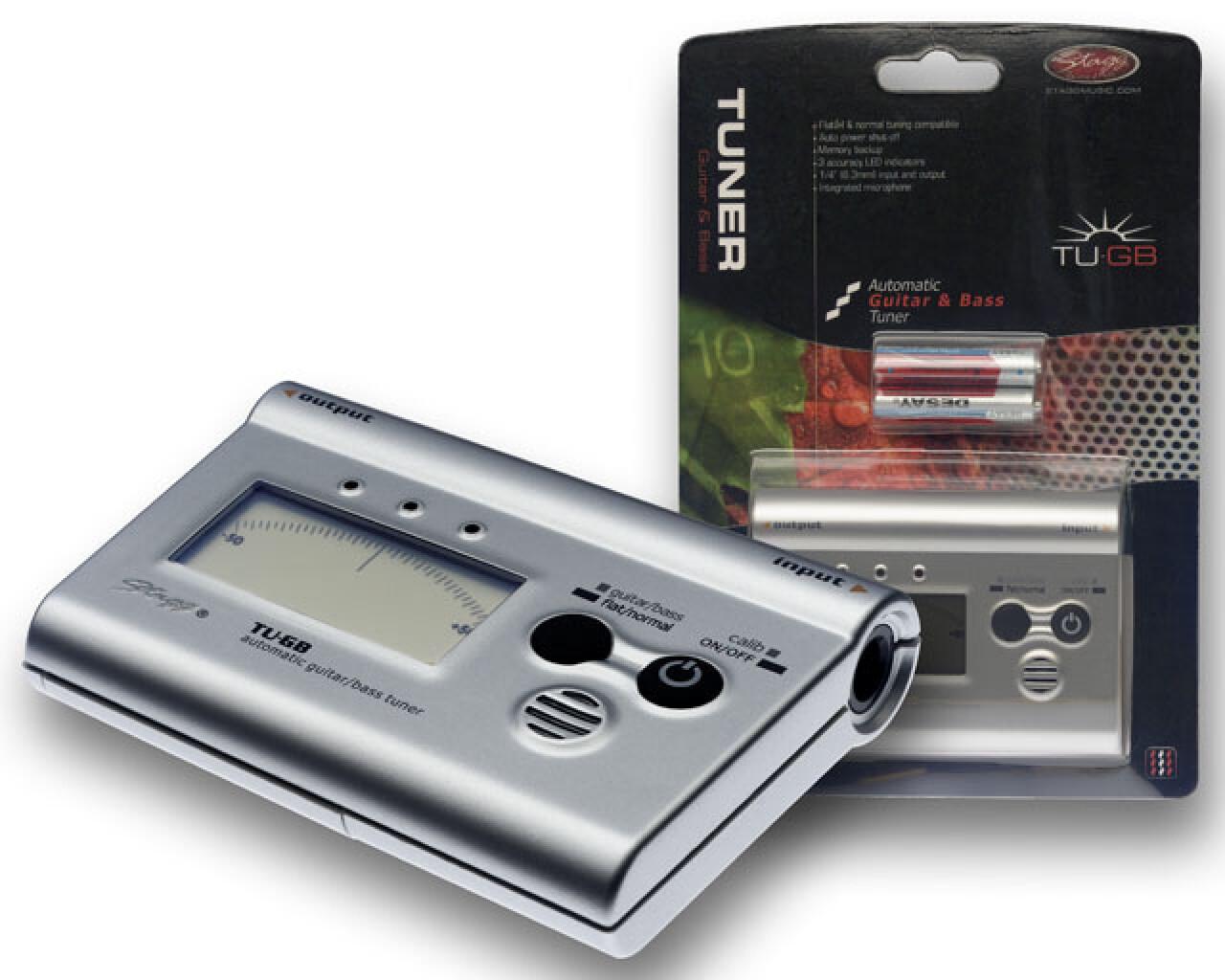 Automatisches Stimmgerät f. Gitarre und Bass