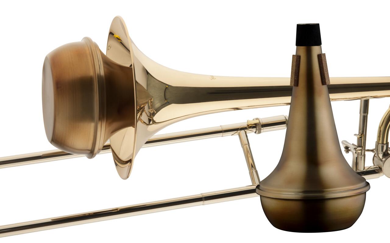Vintage straight mute for trombone