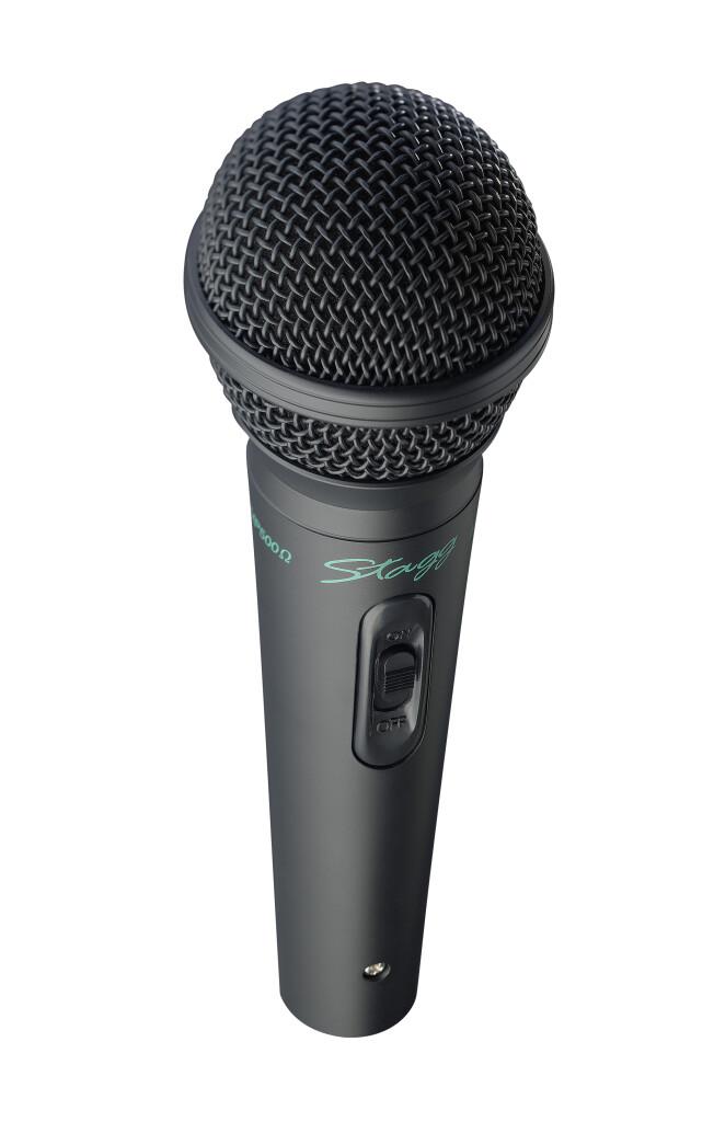 Microphone dynamique universel en métal