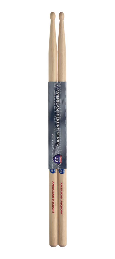 Paar Drumstokken in Hickory/2B - Houten Tip