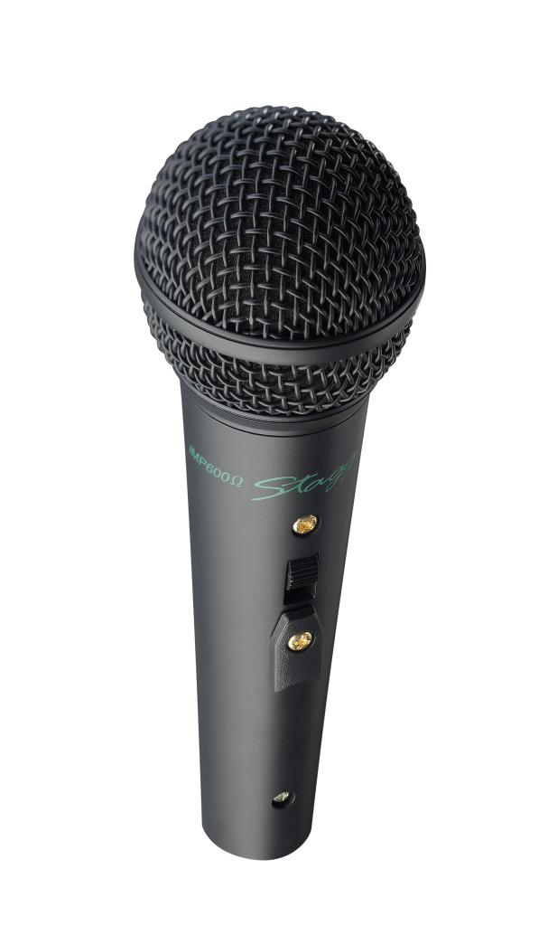 Microphone dynamique en métal, pro scène