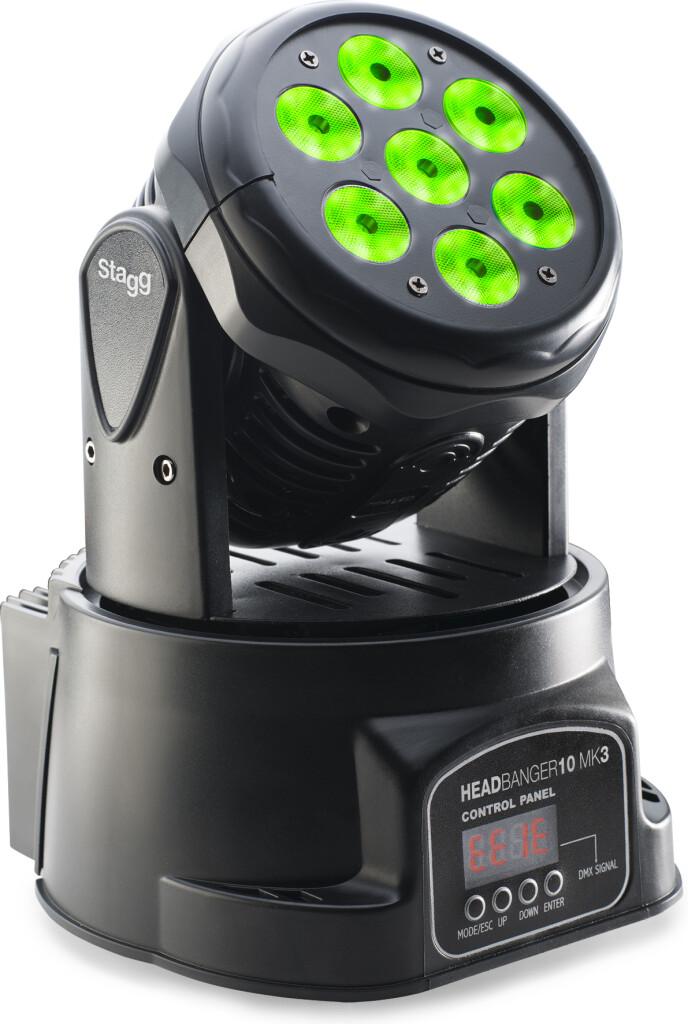 USA 7X10W (RGBW) HEADBANGER