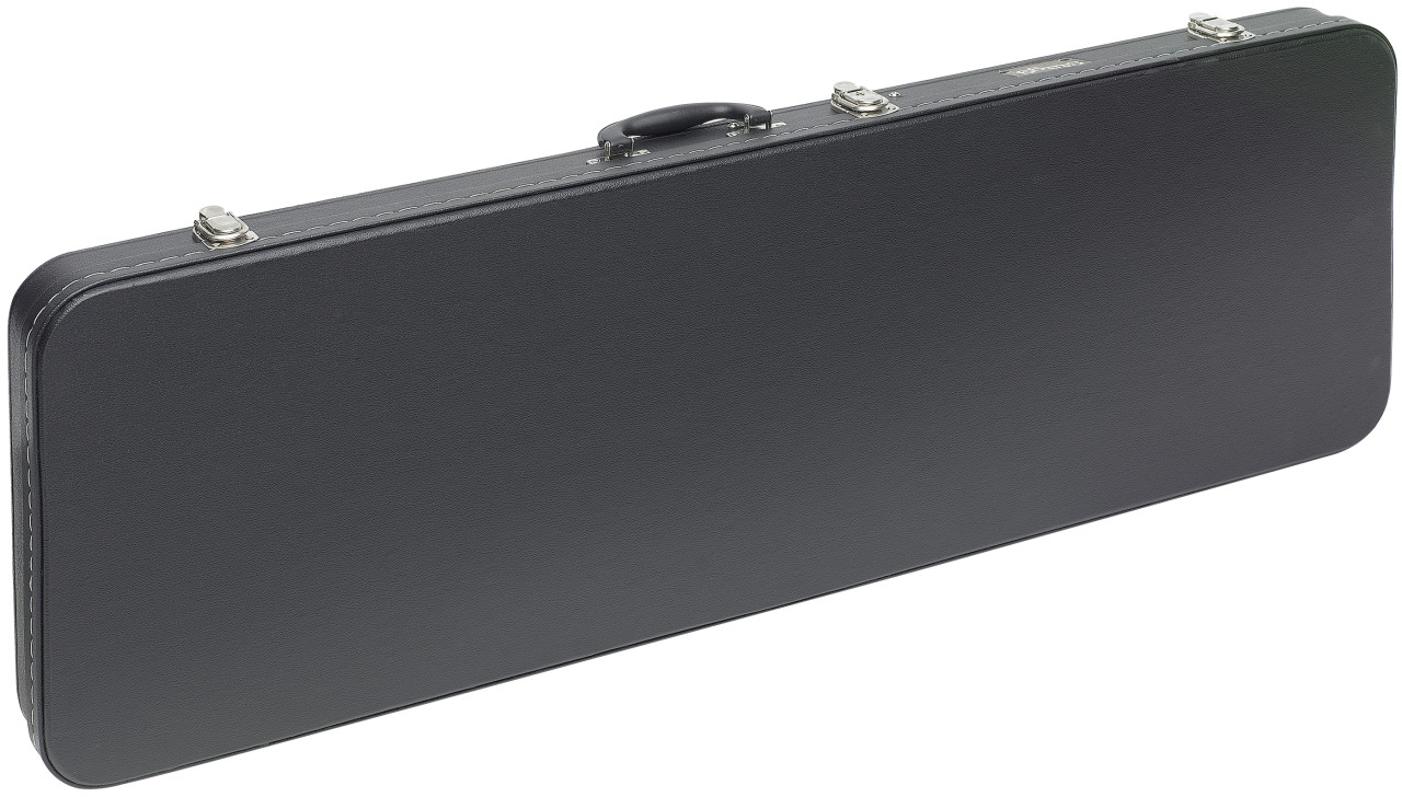 Economic series lightweight hardshell case for electric guitar, square-shaped model