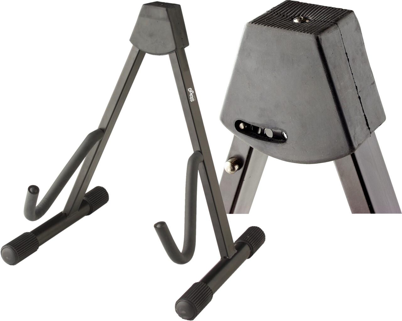 Stand en A pliable pour guitare électrique ou basse