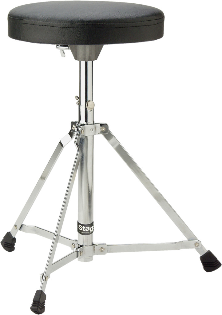 Drum throne, single braced