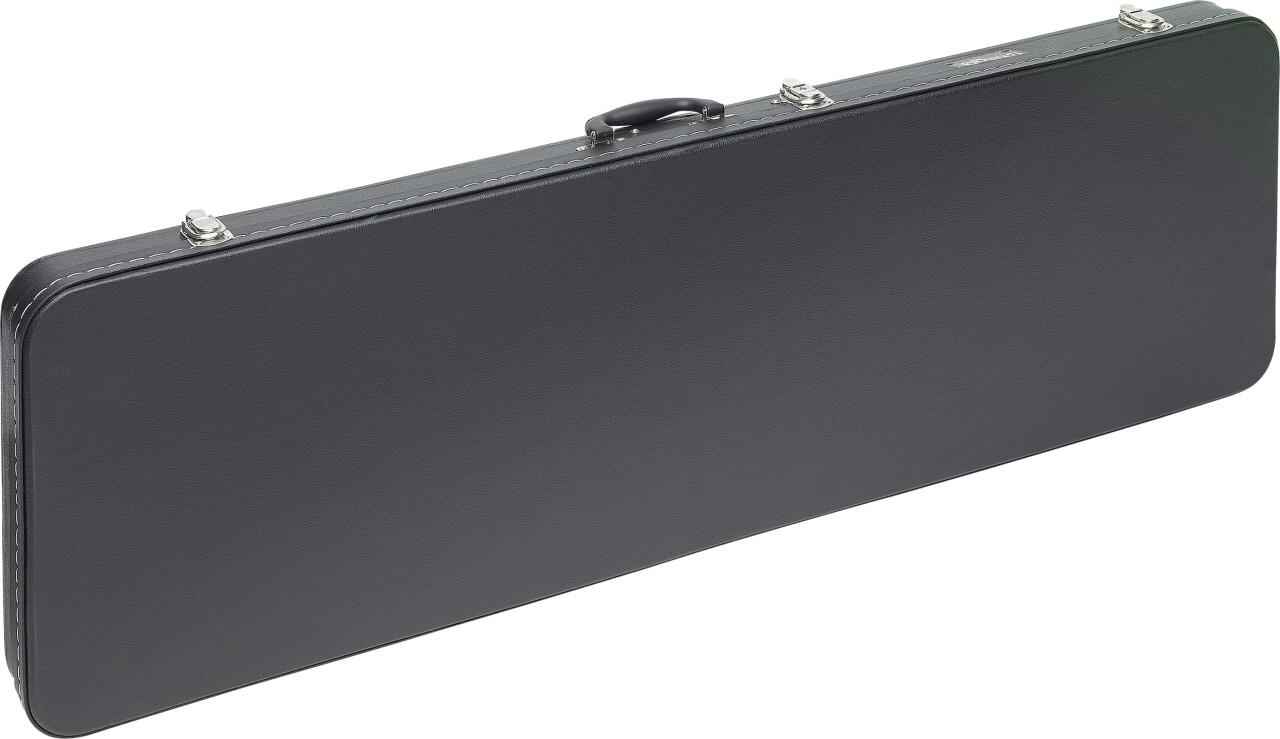 Economic Serie Leichtes Hartschalenkoffer für E-Bassgitarre, viereckiges Modell