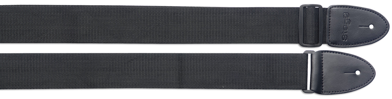 Braided nylon guitar strap - Standard