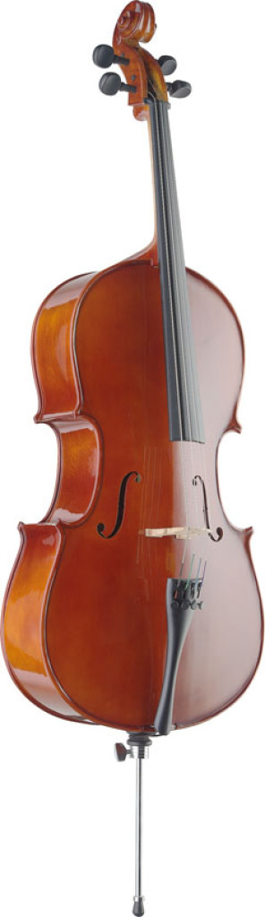 1/4 solid spruce cello with bag