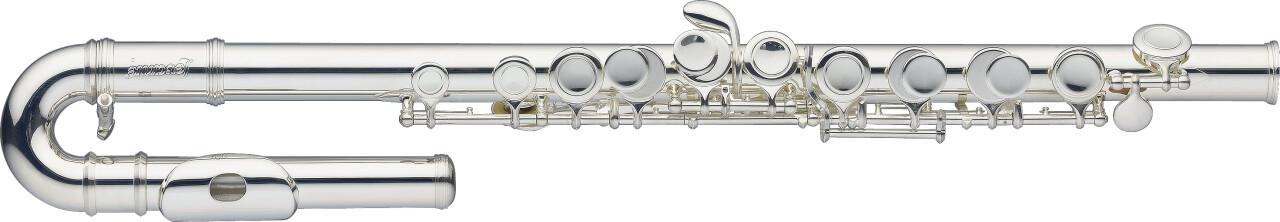 C Junior Flute, D range (7cm shorter), curved head joint