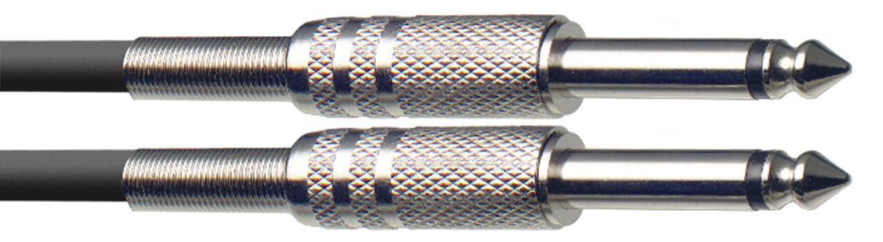 Instrumentkabel jack/jack (m/m), 3 m, S-serie