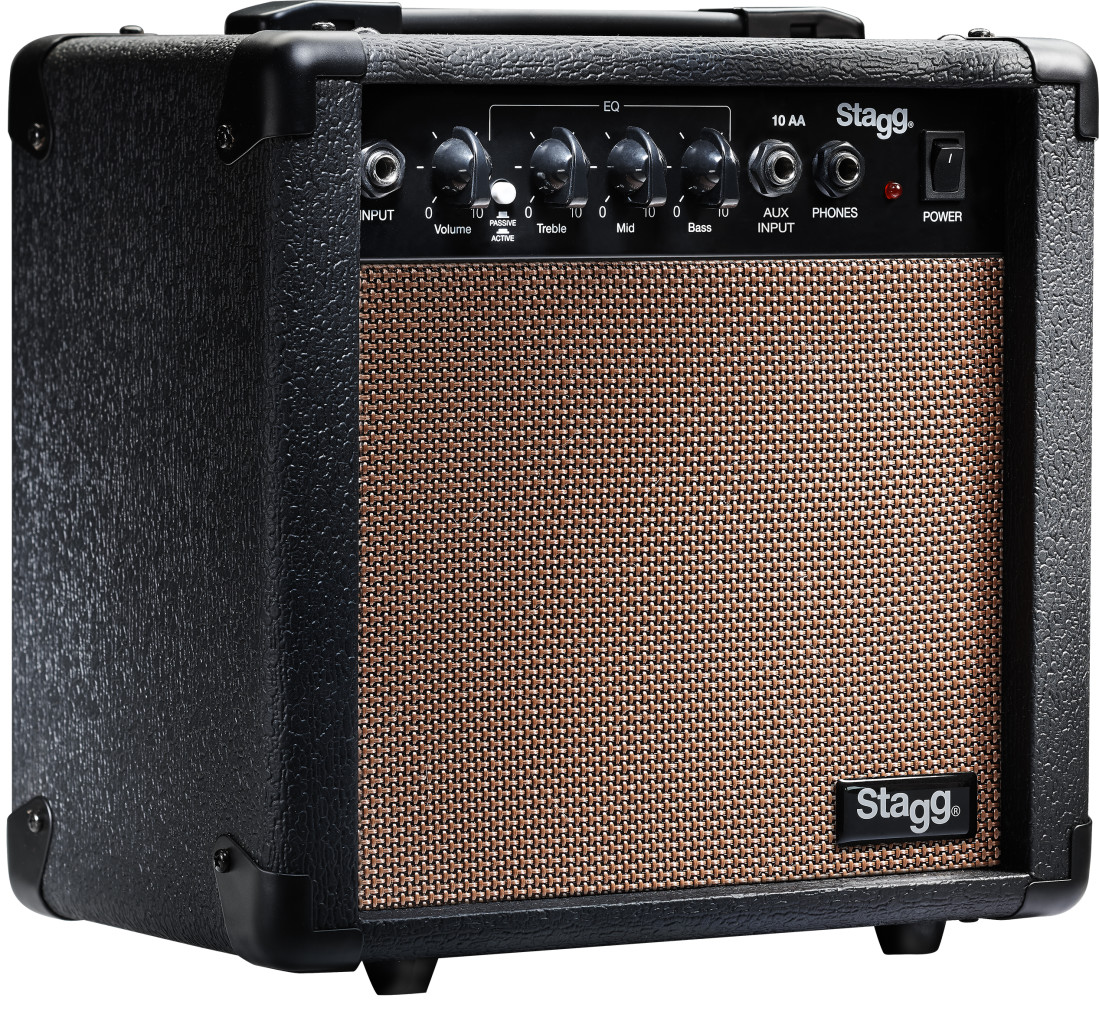 10-watt acoustic amplifier