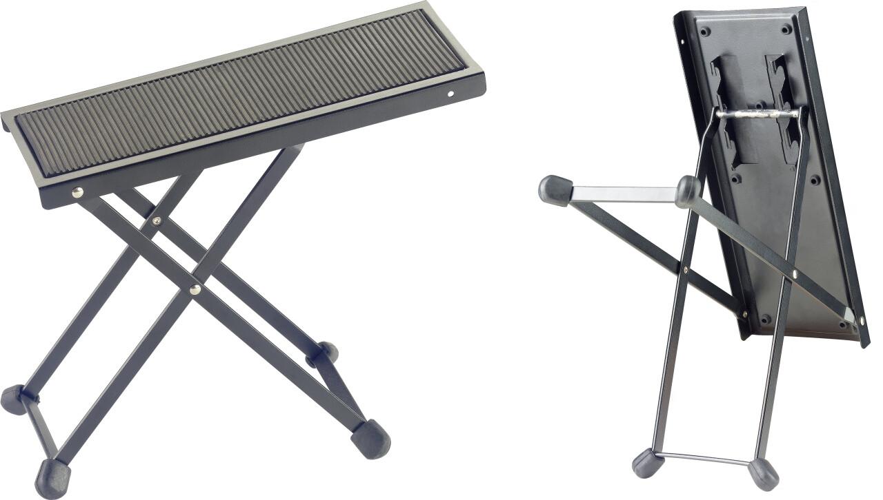 Repose-pied en métal pour guitaristes