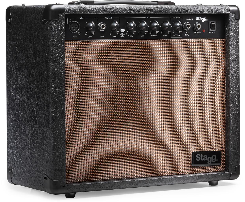 40-watt spring reverb acoustic amplifier