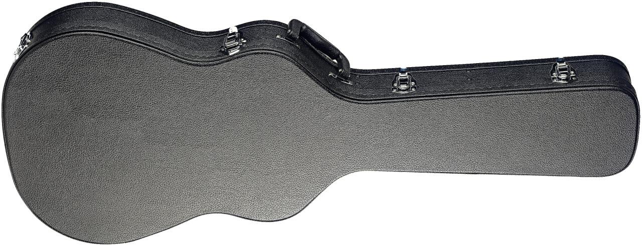 Etui rigide pour guitare classique électro-acoustique 4/4 à caisse fine, série Basic