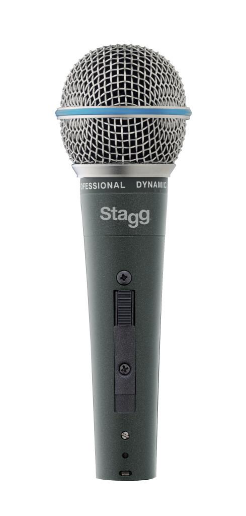 Microphone dynamique cardioïde, modèle professionnel, cellule DC164