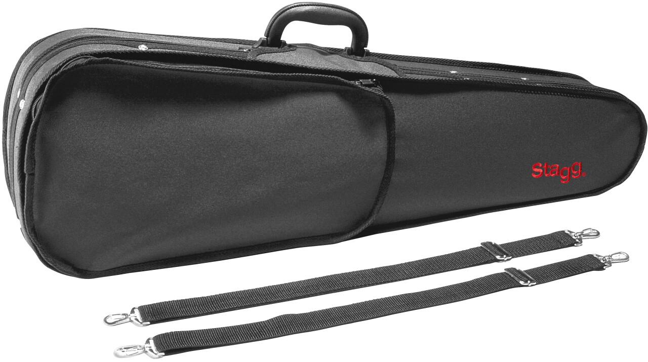 Lightweight violin-shaped soft case for 1/4 violin