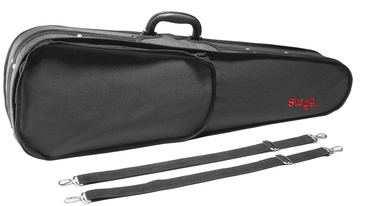 Lightweight violin-shaped soft case for 1/2 violin