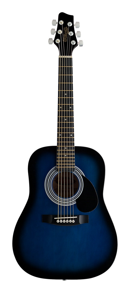 Acoustic Dreadnought Guitar with Basswood top, 1/2 model
