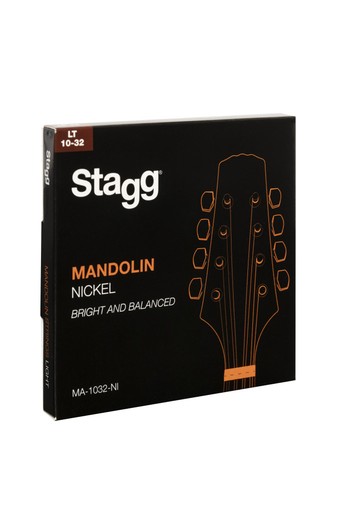 Set of nickel strings for mandolin, light