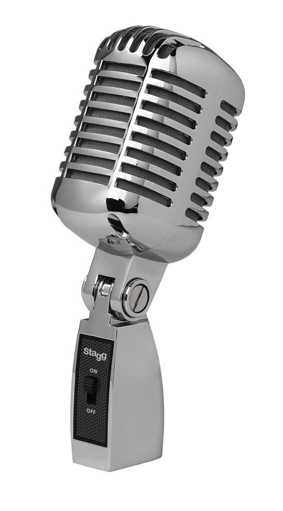 Professionelles dynamisches Mikrofon Vintage Stil Nierencharakteristik mit DC04 Kapsel