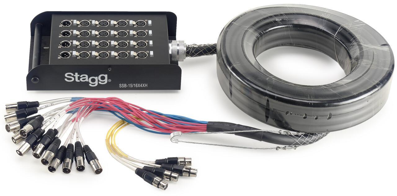 S-Series Stagebox - 16x XLR F Inputs/ 4x XLR M Outputs