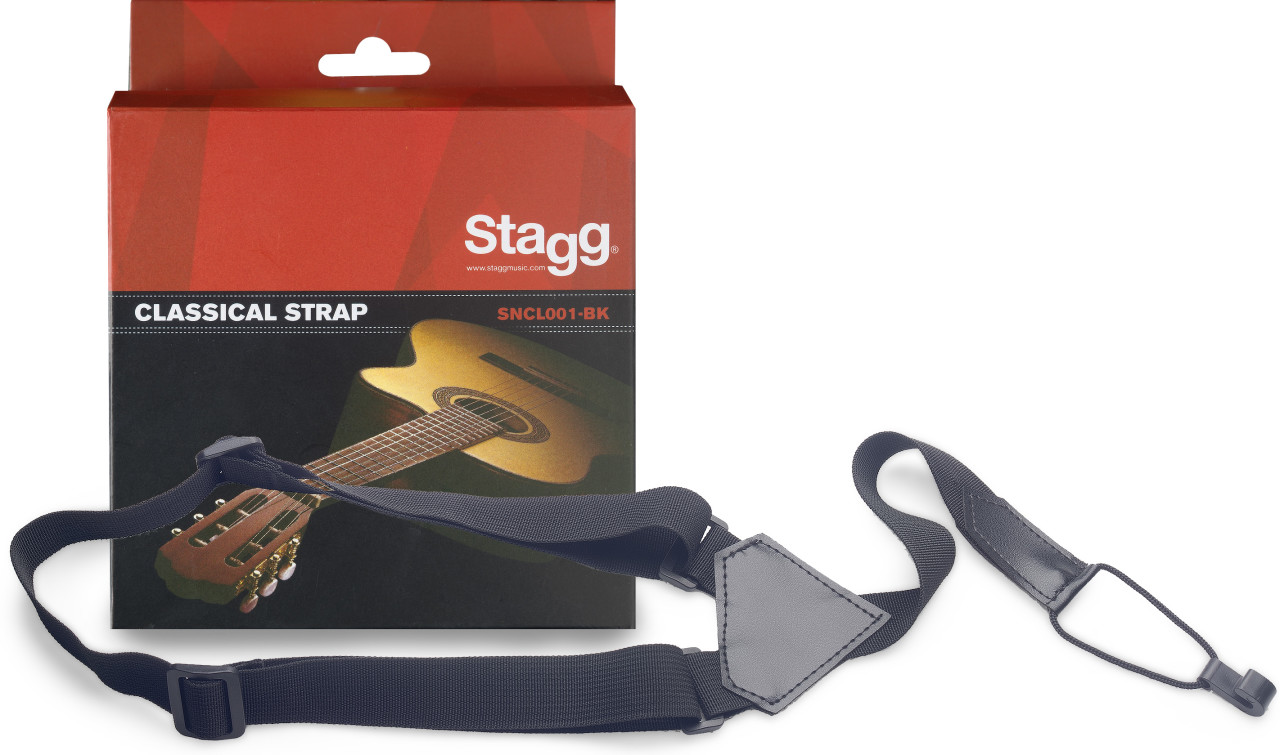Sound-hole nylon strap f. Classical Guitars